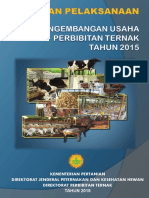 Pedoman Pelaksanaan Pengembangan Usaha Perbibitan 2015