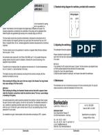 BFS30 Manual E 07 2003