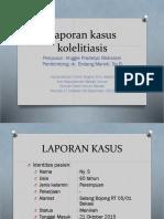 Case Dr.endang (Kolelitiasis)