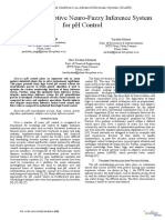 Optimized Adaptive Neuro-Fuzzy Inference System for PH Control