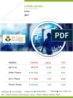 Derivative Premium Daily Journal 25th September 2017 Monday