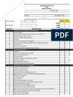 Civil - Steel Structure Drawing Checklist