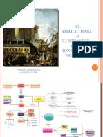 El absolutismo, la ilustracion y la revolución francesa
