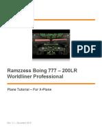 Ramzzess Boing 777 Plane Tutorial - Rev2.1