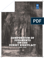 Compendum of Judgments on Forest Rights Act 2007-2015