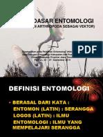 Dasar Dasar Entomologi