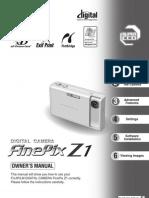 Fujifilm FINEPIX Z1 Manual