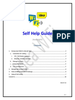 Idea Selfcare Guide