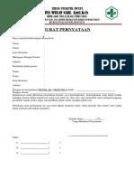 Surat Pernyataan Pasien Ratna