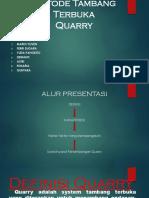 Presentasi Quarry