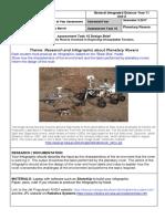 task 15 planetary rovers