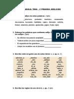 204010197 Examen de Lengua Tema 5º Primaria Edelvives