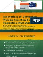 Health Care Innovations to Counter Ncds