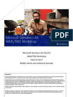 Microsoft Dynamics AX 2012 R3 Warehouse Management Hands on Lab 4