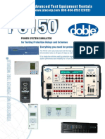 Doble F6150 Brochure