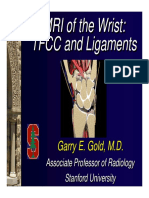 GOLD_MRI of the Wrist- TFCC and Ligaments Syllabus