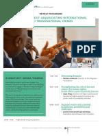 Adjudicating international and transnational crimes