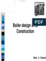 Boiler Its Design and Construction