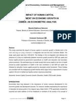 The Impact of Human Capital