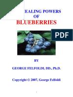 2008 - George Felfoldi - (eBook - Herbal) - The Healing Powers Of BLUEBERRIES (2008), 83 pages.pdf