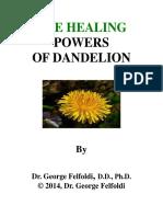 2014 - George Felfoldi  eBooks - Herbal,  - The Healing Powers Of Dandelion  2014, Pages 116.pdf