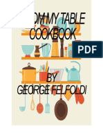 2015 - George Felfoldi - (eBook - Cooking) - From My Table Cookbook, 158 pages.pdf