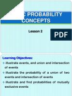 2. Math d - Basic Probability Concepts