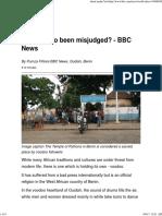 Voodoo - BBC article