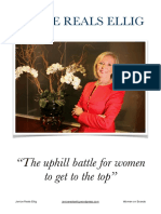 Janice Reals Ellig - The Uphill Battle for Women to Get to the Top