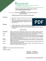 SK PENGANGKATAN Struktur Organisasi