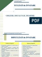 dislexia disgrafia