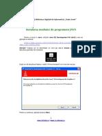 Instalare Java 1