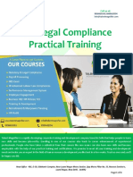 IR & Legal Compliance Training Course in Delhi
