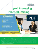 Payroll Processing Training Course in Delhi
