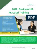 PMS/ T&D /R&S Business HR Training Course in Delhi