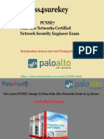 100% verified Palo Alto Networks PCNSE7 Braindumps & PDF