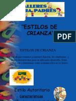 ESTILO Y MANEJO DE CRIANZA.pptx