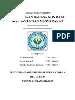 Mini Riset Bahasa indonesia