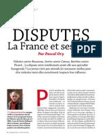 Pascal Ory Disputes. La France Et Ses Coqs - Magazine Littéraire Oct 2017