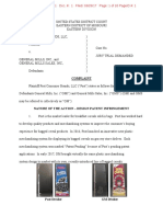 Post Consumer Brands v. General Mills - Complaint