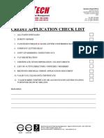 St Checklist