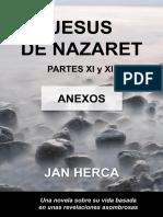 Jesus de Nazaret Parte 11 y 12 Anexos