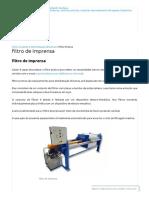 Filtro Prensa - Gedar - Tratamento de Água