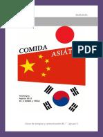 Libro Cocina Asiatica