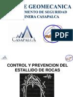 Capacitacion de Prevencion y Control de Estallido de Rocas