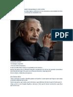 Así Respondía Einstein Cuando Le Preguntaban Si Creía en Dios