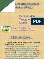 Guru Baharu (PPBG) Mentor