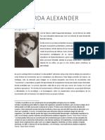 Gerda Alexander