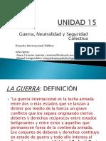 Power Point Unidad XV en PDF