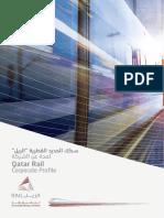 Qatar Rail - Corporate Brochure